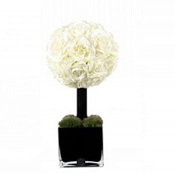 Diffuser Tree 20 sm White Rose cube noir Herve Gambs Paris