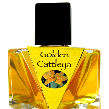 Golden Cattleya  Olympic Orchids Artisan Perfumes