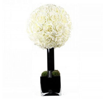 Diffuser Tree 90 sm White Rose cube noir Herve Gambs Paris